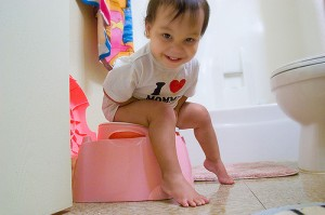 Potty training can be fun